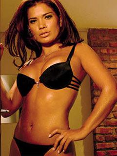 Viviane Oliveira do BBB3 posou semi-nua em fotos pra lá de sensuais para o ...