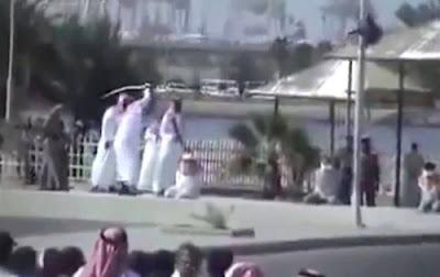 Public beheading in Saudi Arabia (file photo)