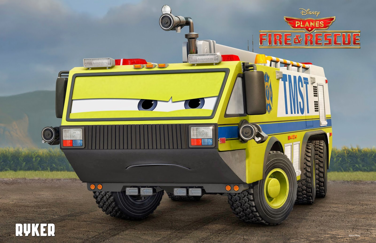 Ryker from Disney's Planes: Fire & Rescue