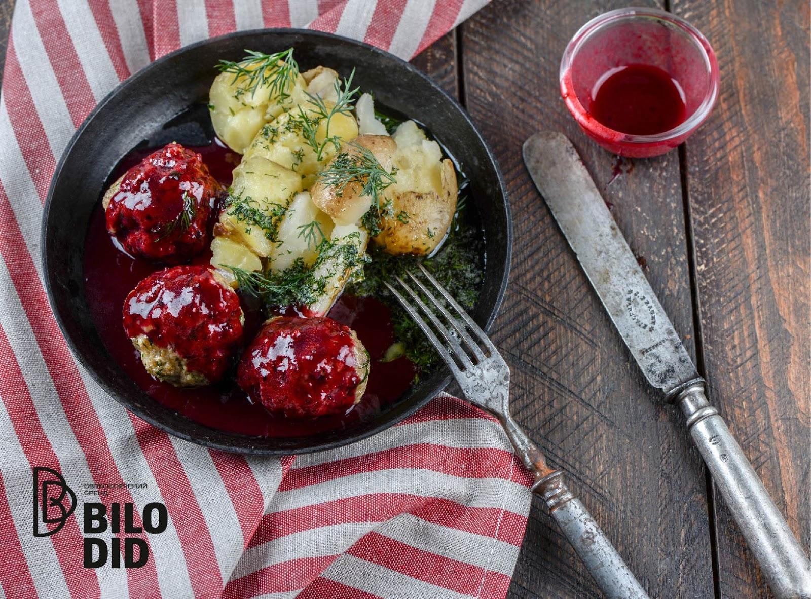 Шведский соус для фрикаделек