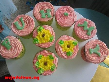 majlis perkahwinan, majlis persandingan, cupcakes, fuh.my, blogger hebat kahwin, perkahwinan blogger