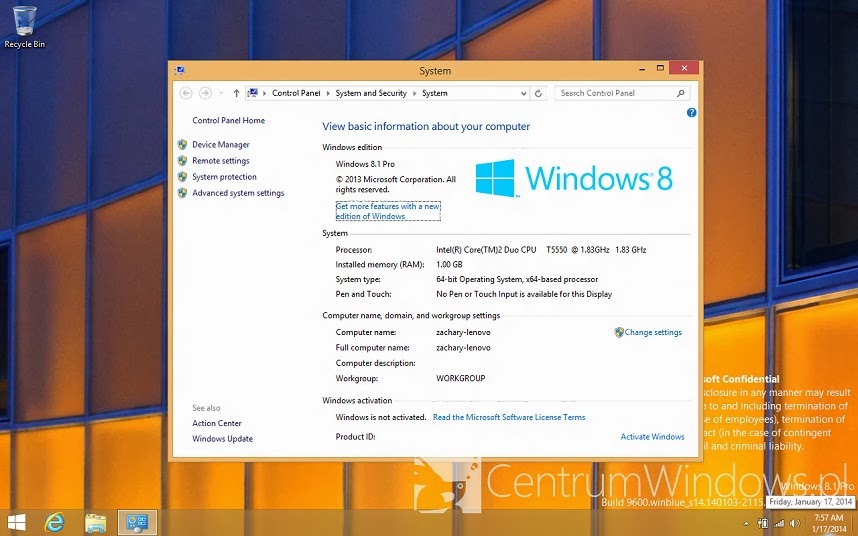 Whats new in Windows 8.1 update?