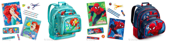 Vintage items from the Disney and Marvel back to school collection are available now at