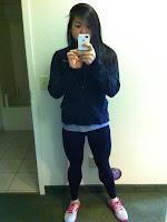 asian girl legs