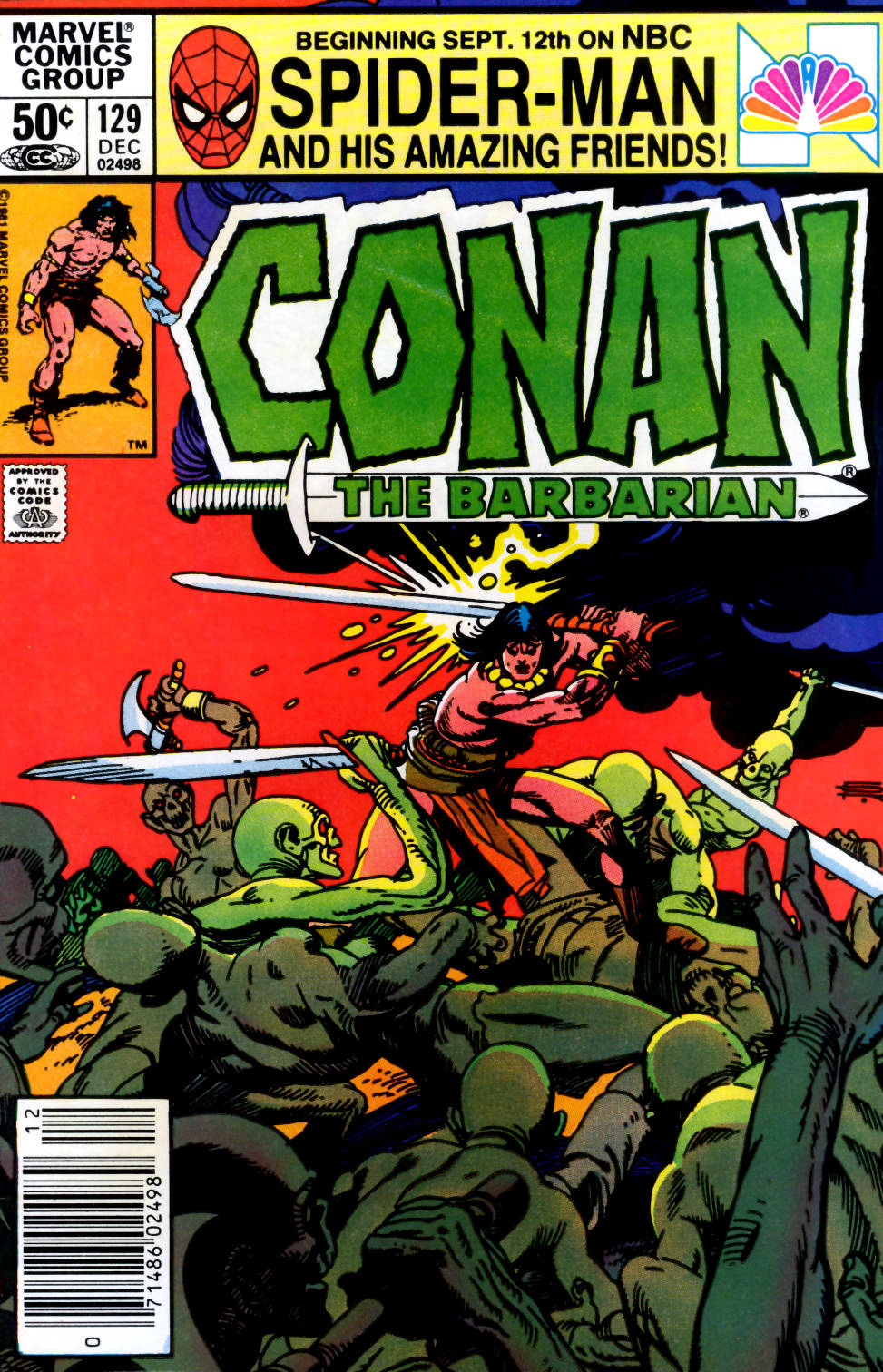 Conan the Barbarian (1970) Issue #129 #141 - English 1