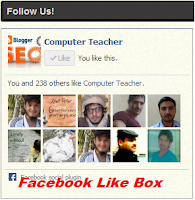 Add Facebook Like Box on Blogger