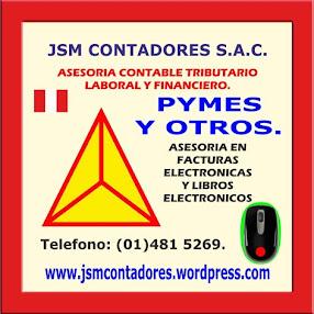 JSM CONTADORES SAC.
