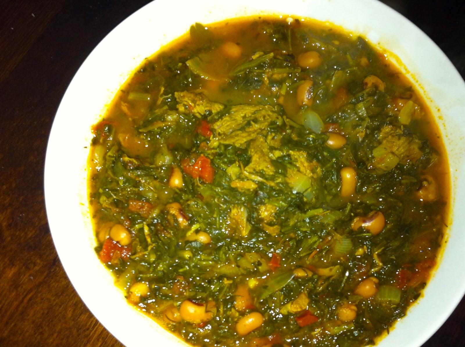 Ghourmeh Sabzi (Persian Spinach and Lamb Stew)