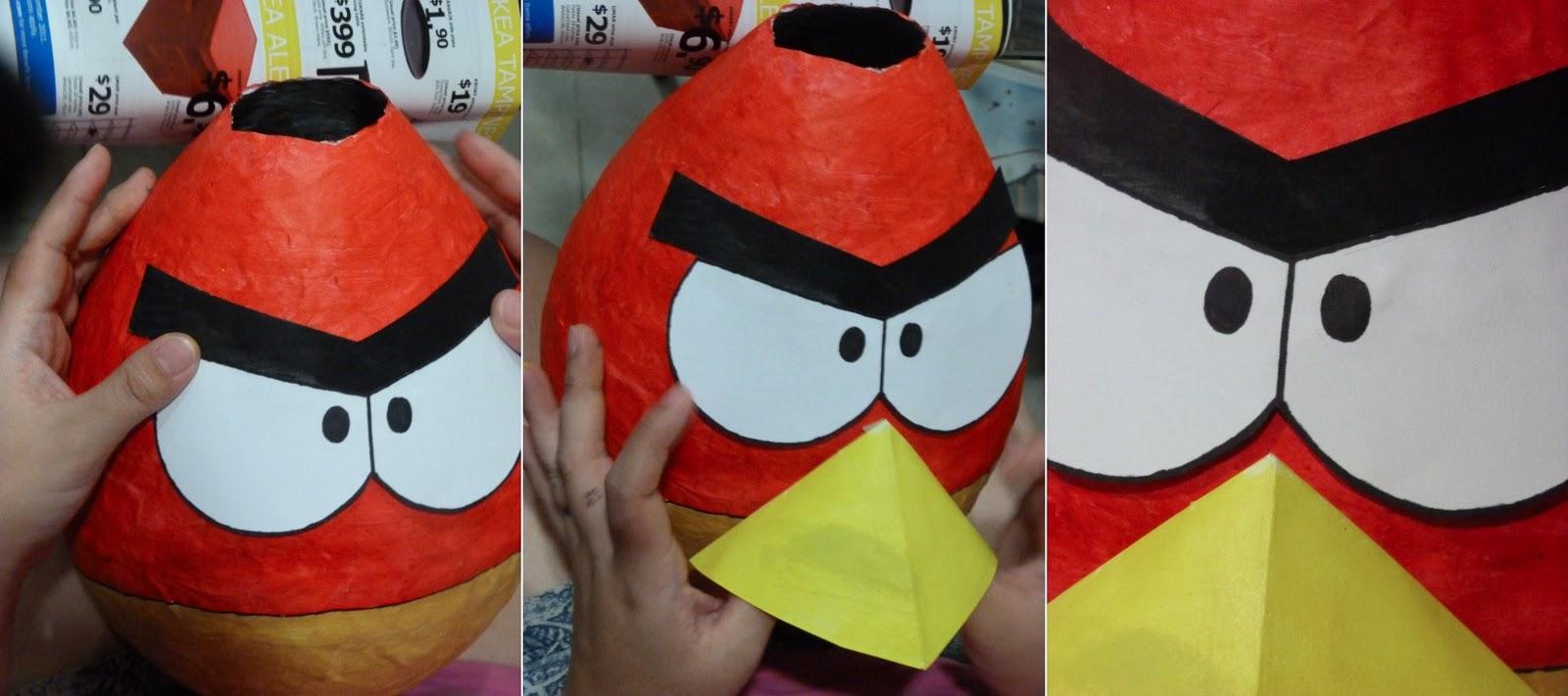 Angry birds пиньята своими руками