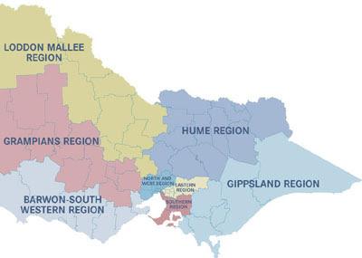 Victoria Map Picture