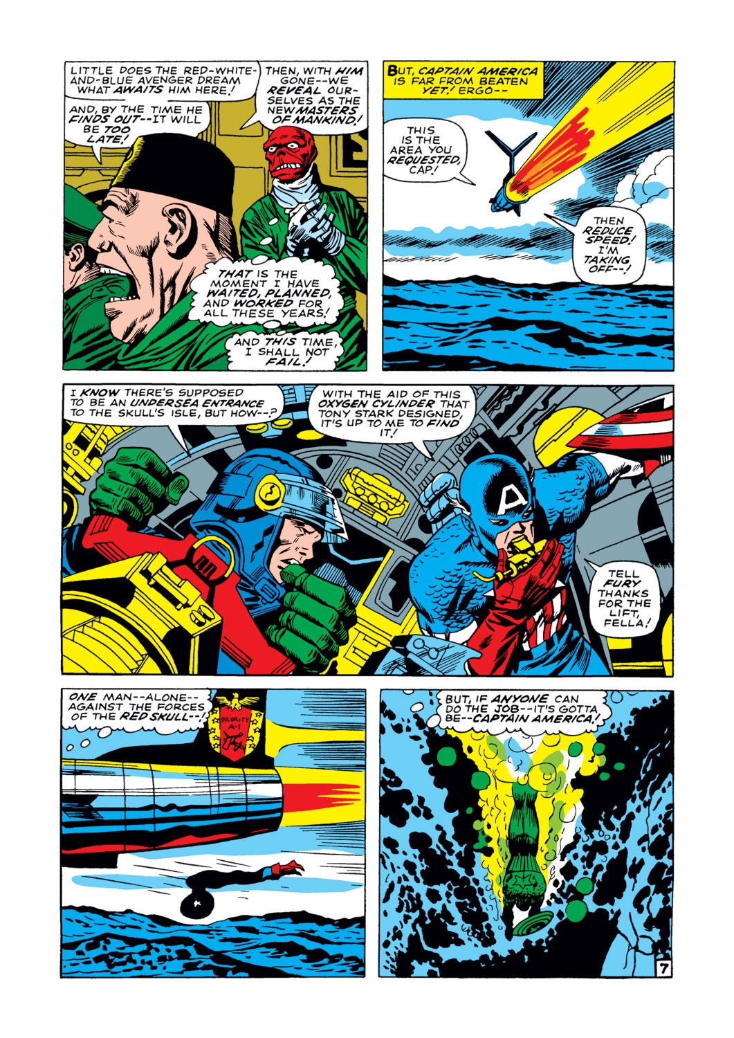 Captain America (1968) Issue #103 #17 - English 8