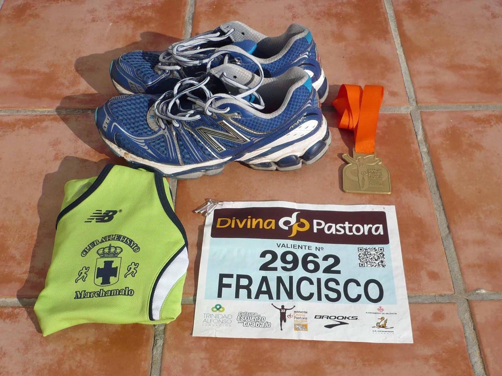 Club Atletismo Los Gallardos: MARATÓN DE VALENCIA 3:10:42 NETO ...