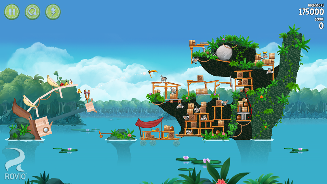 Angry birds Rio iPhone game - free Download ipa for