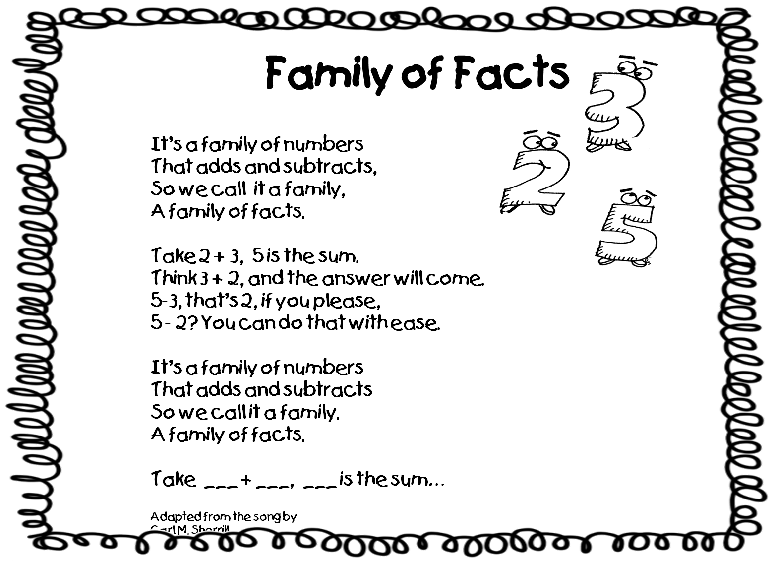 If you want to try this, click here for the poem and the numbers!