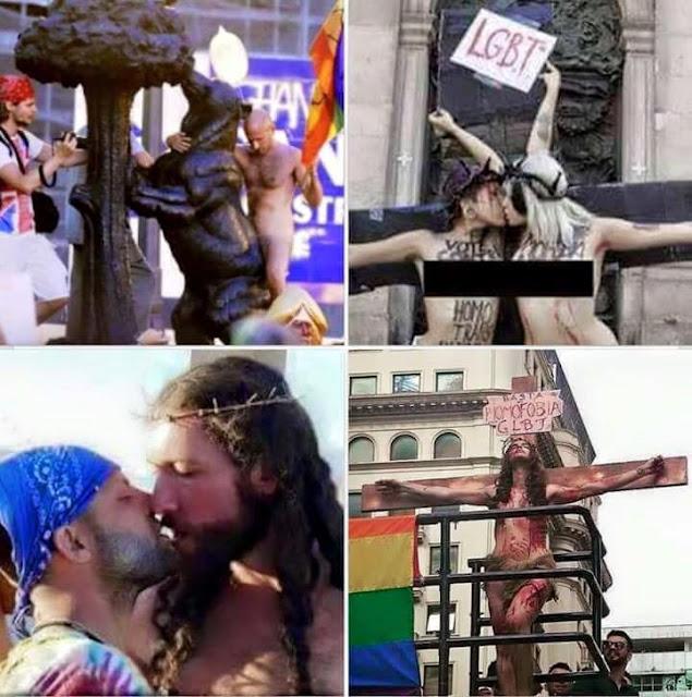 polémicas fotos día orgullo gay 2015