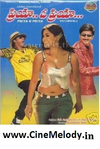 Priya O Priya  Telugu Mp3 Songs Free  Download -1998