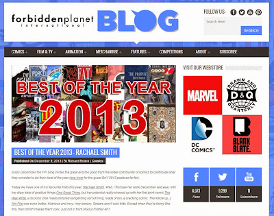 http://www.forbiddenplanet.co.uk/blog/2013/best-of-the-year-2013-rachael-smith/