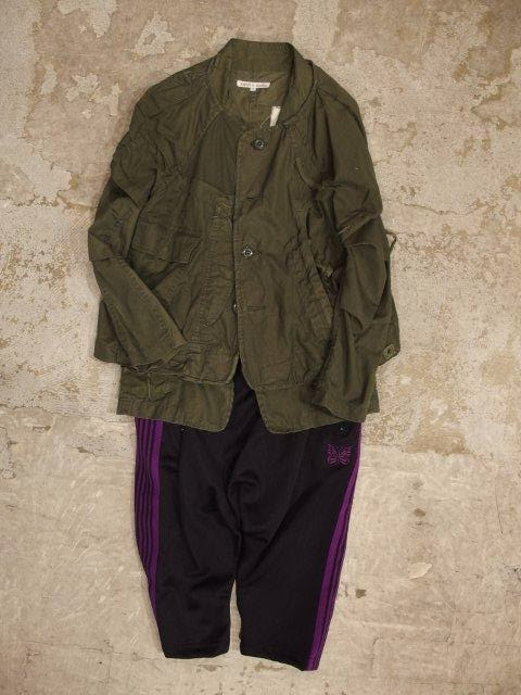 needles womens track jacket & sarouel pant-papillon emb. spring/summer 2014