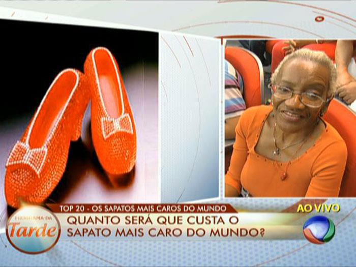 Para comemorar 50 anos do filme O Mágico de Oz, uma famosa joalheria criou  o par de sapatos com 4.600 rubis, que custa cerca de R  6,1 milhões e é ... 8221409b98