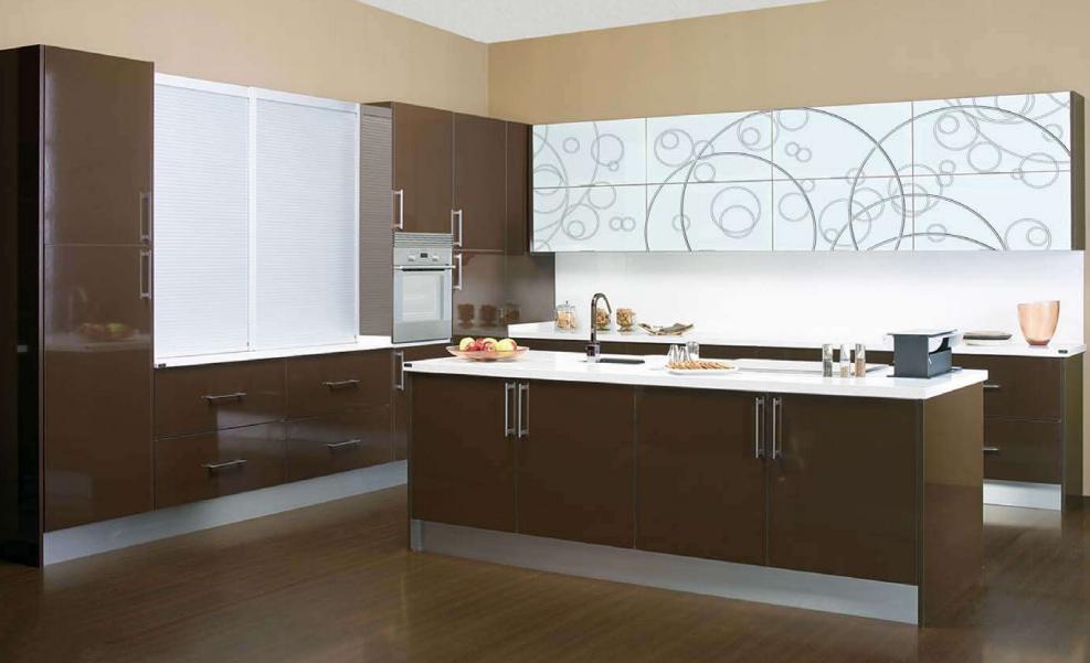 La cocina y su personalizaci n con serigraf as cocinas - Cocinas con bloques de vidrio ...