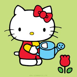 animasi bergerak hello kitty gif bergerak untuk blog dan power point