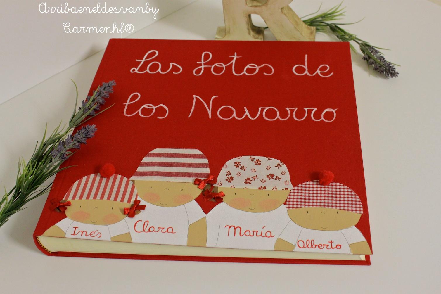 24 feb album de fotos personalizado 2 decoraci n - Album de fotos personalizado ...
