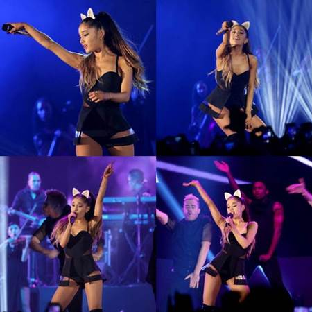Cuplikan Foto dan Video Konser Ariana Grande The Honeymoon Tour 26 Agustus 2015 di JIEXPO