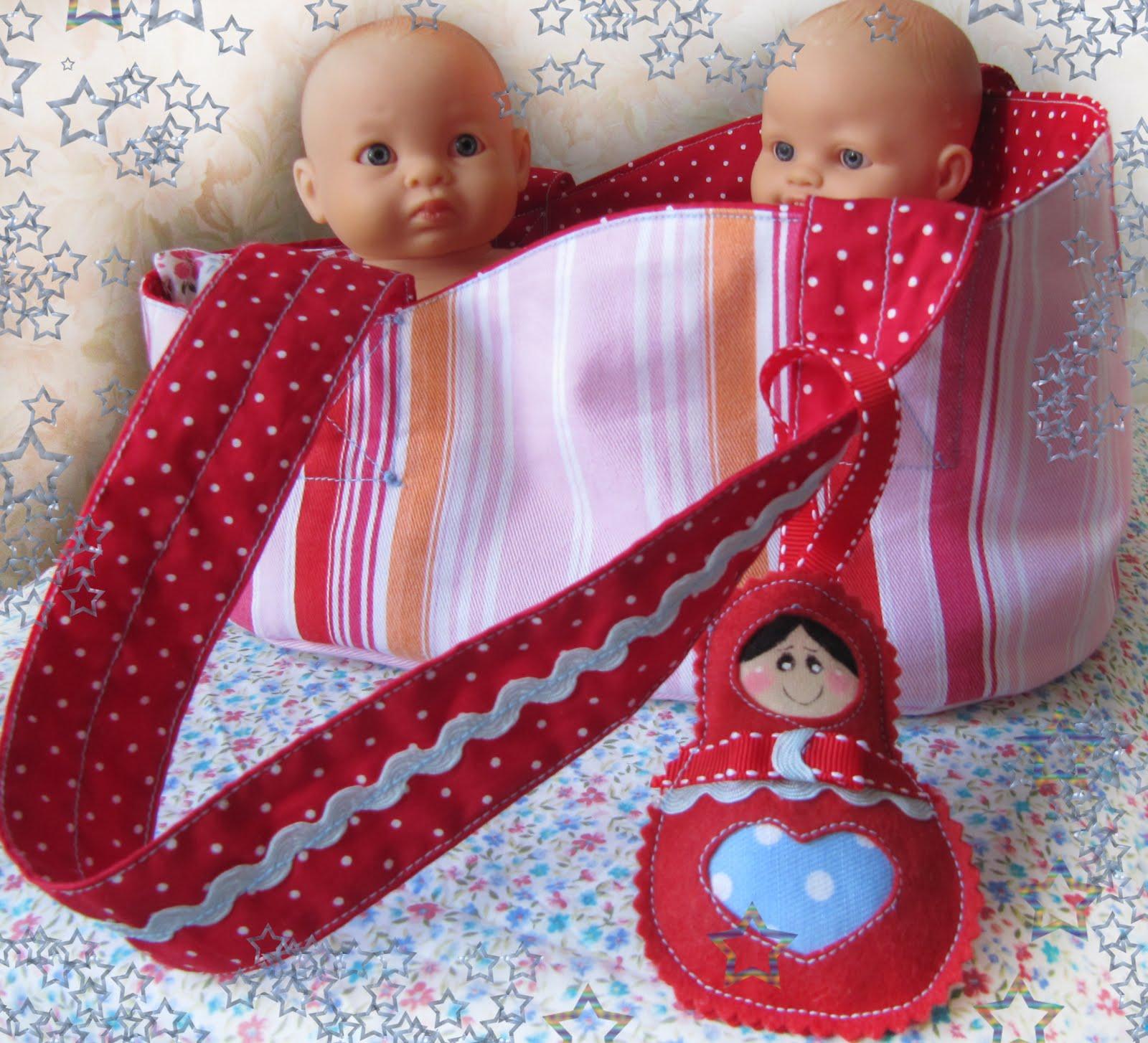 Кукла в переноске своими руками