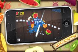 Juego Fruit Ninja para tu iPad