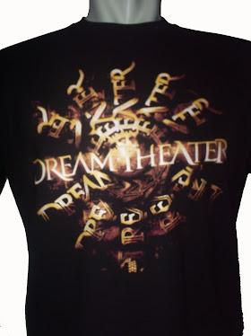 Kaos t-Shirt Distro Bandung Rock Metal