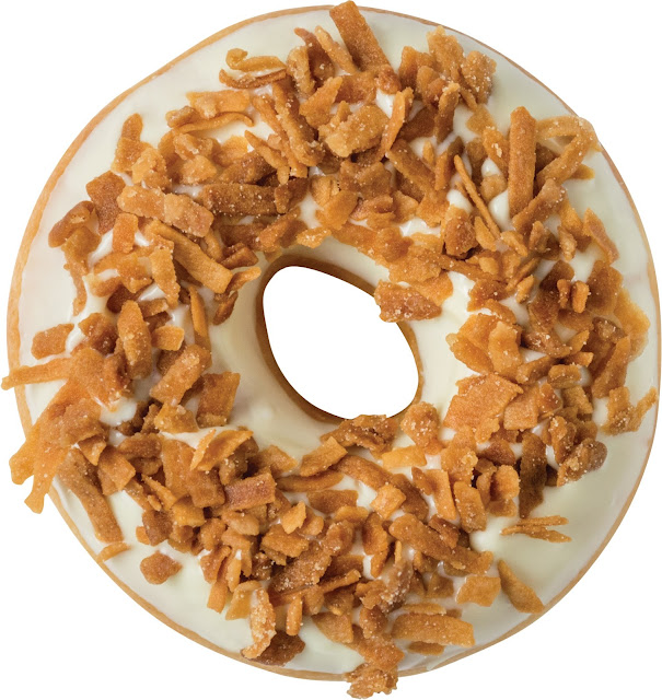 Krispy Kreme Doughnuts - Mini White Chocolate Coconut Praline