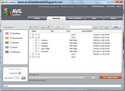 avg livekive download