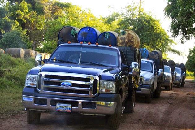 Contrabandistas de gasolina