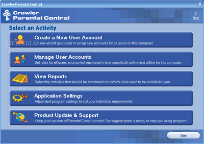 Download Crawler Parental Control