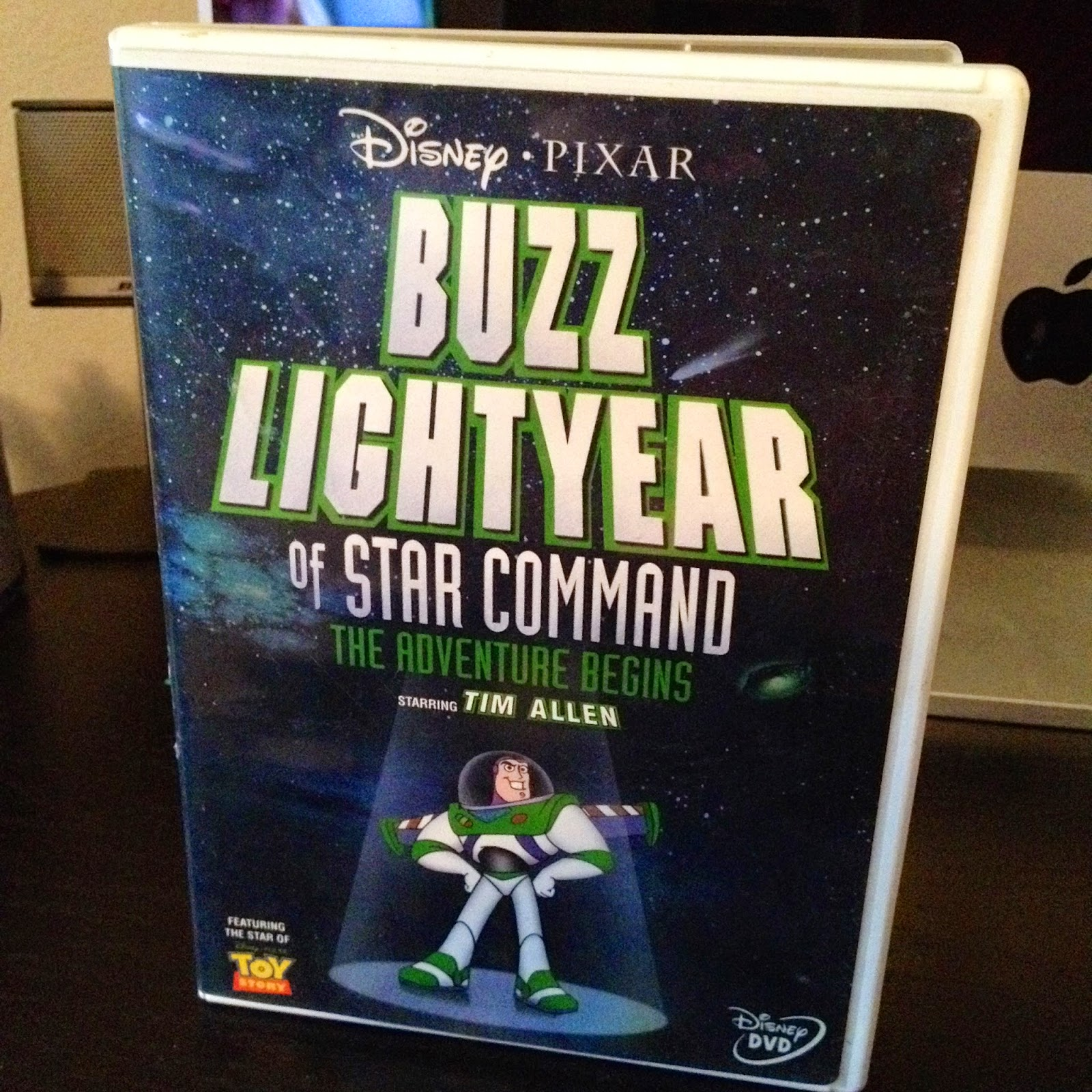 Dan The Pixar Fan Buzz Lightyear Of Star Command Movie Dvd