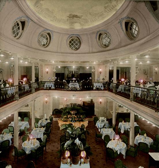 Destino dos navios ss imperator o navio maior que olympic for O que significa dining room em portugues