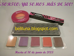 "Sorteo en el blog ""Beliluna"""