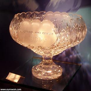 Trofeo de cristal para el NASDAQ