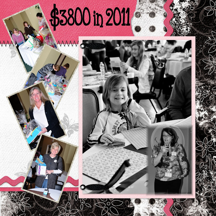 2011 ~ A BIG $4000 raised for JDRF ... $3800 was the original estimate...