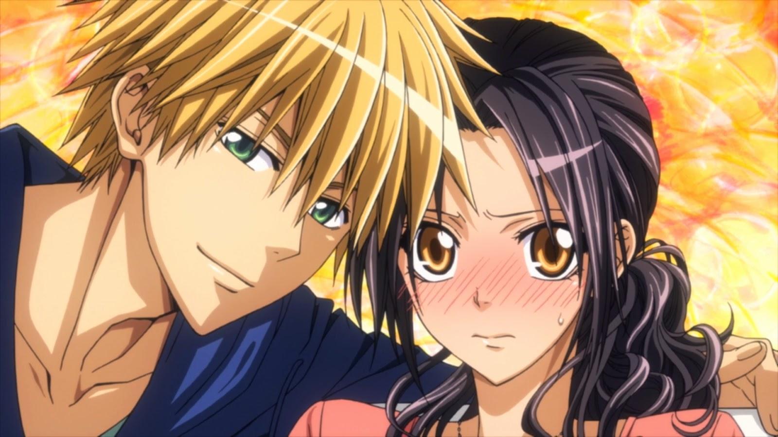Anime de romance Kaichou wa Maid-sama