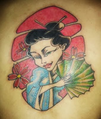 Tatuagens Femininas de Gueixa