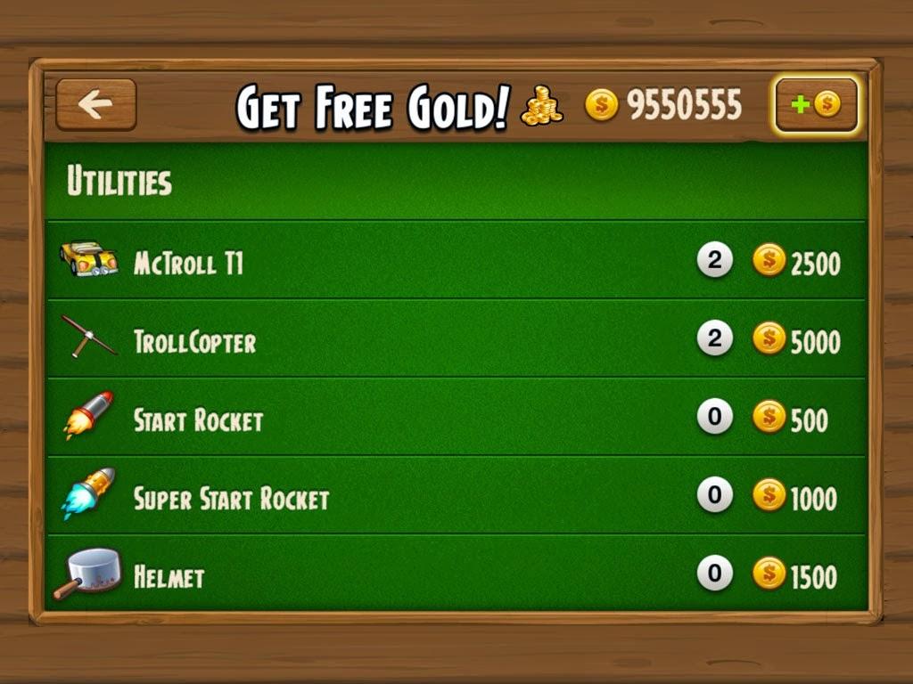 Hugo Troll Race HD Game Hack  v1.7.4