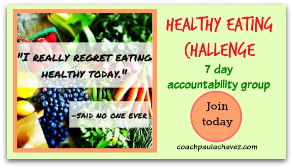 Healthy eating challenge group free
