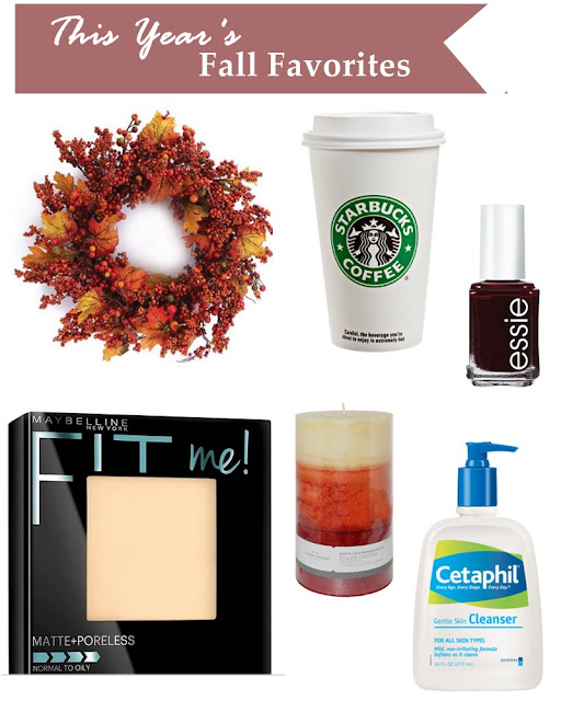 Fall favorite essentials