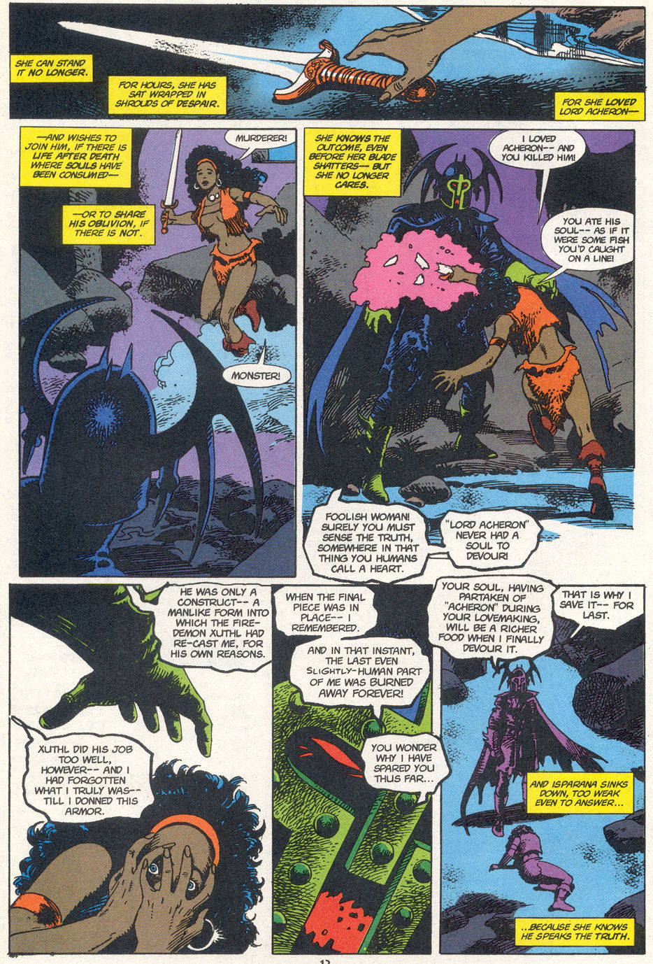 Conan the Barbarian (1970) Issue #272 #284 - English 9