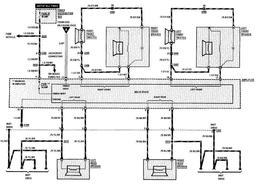 2002 BMW 325i Wiring Diagrams ‐ Wiring Diagrams Instruction