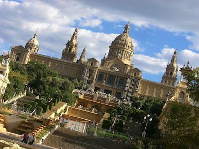 Palau Nacional de Catalunya in Barcelona