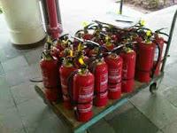 tabung pemadam kebakaran -fire extinguisher - apar