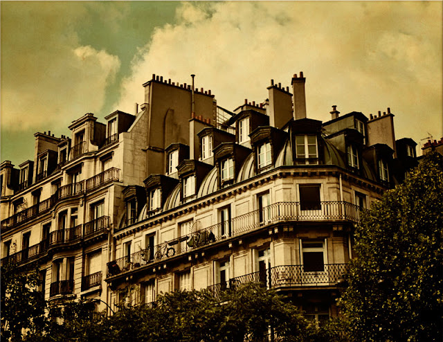 Paris apartments. Photograph by Tim Irving