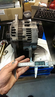 O wo bu jiu dao i dont know shirimasen ec5w i used a longer alternator bolt to pull the bush in uses a large rolled pin asfbconference2016 Images